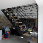 Escalier Acel - double quart tournant - steelmetal