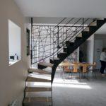 Escalier Acel - quart tournant - steelmetal