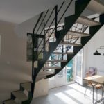 Escalier Acel - quart tournant - steelmetal 2