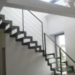 Escalier double cremailläre