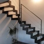 Escalier en metal sur mesure