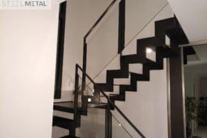 Thep - Escalier deux quart avec palier