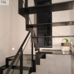 Thep - escalier tout acier avec palier