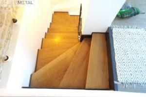 acel - escalier 2/4 - marches bois
