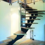 Escalier limon central Celik