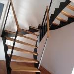Escalier comtemporain en métal Acel