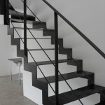 escalier metal design