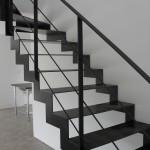escalier metal design