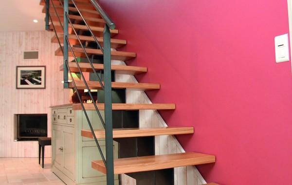 Escalier moderne bois Stahl