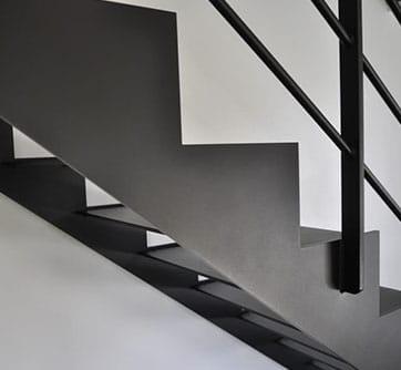 Escalier ACEL limons latéraux simple cremaillere