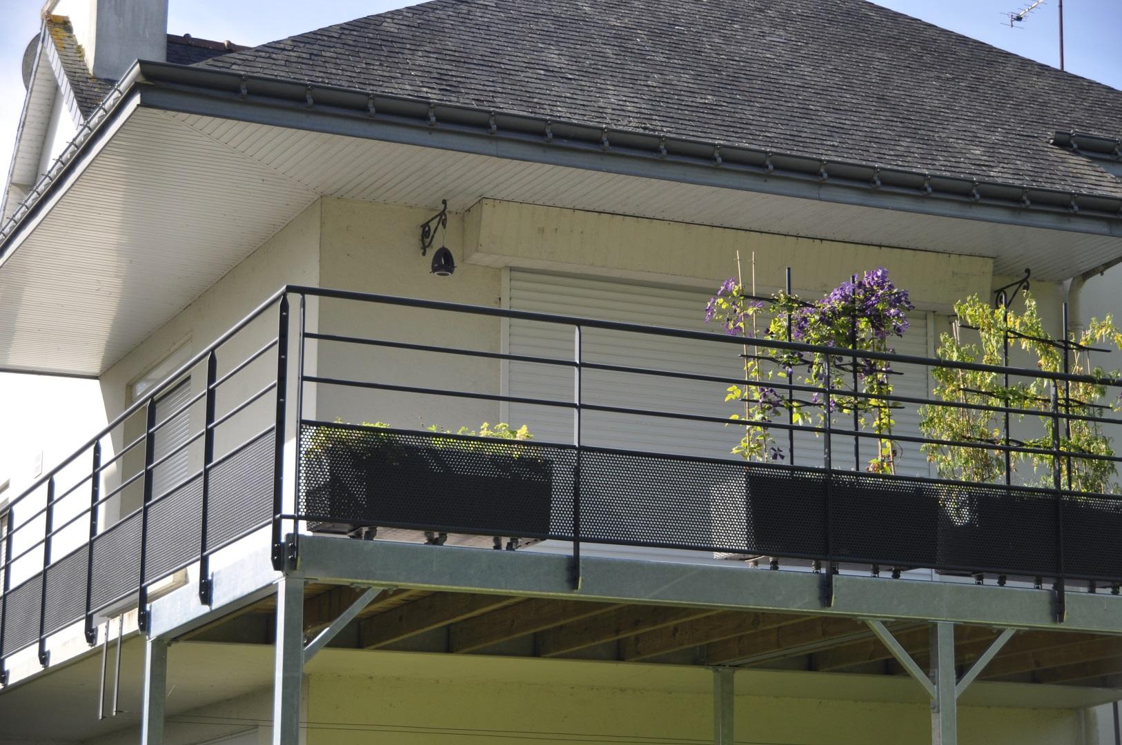 Terrasse Surélevée En Acier construction terrasse suspendue métallique - steelmetal