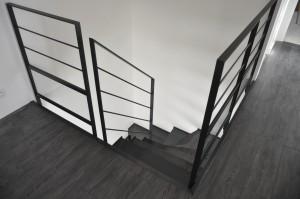 Réalisation de deux escaliers en Bretagne