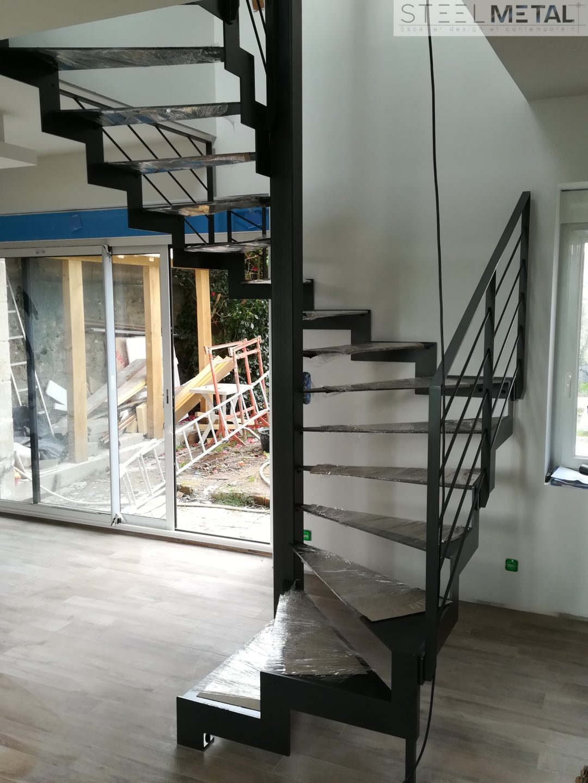 escalier en colima on ou h lico dal quelle diff rence. Black Bedroom Furniture Sets. Home Design Ideas
