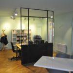 Cloison atelier verrière