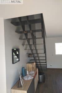 Escalier droit tout métal celik - Morbihan