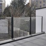Garde-corps balcon extérieur