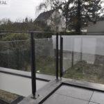 Garde-corps extérieur en verre