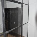Porte verriere cloison atelier