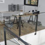 garde-corps escalier intérieur en verre