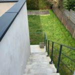 garde-corps laqué escalier - Morbihan