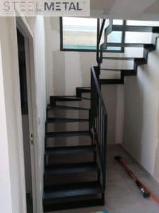 Escalier deux quart tournant THEP - Steelmetal