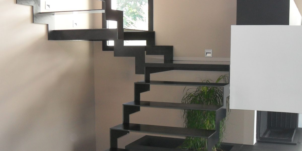 Escalier en métal sur mesure
