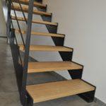 Escalier en bois baubuche
