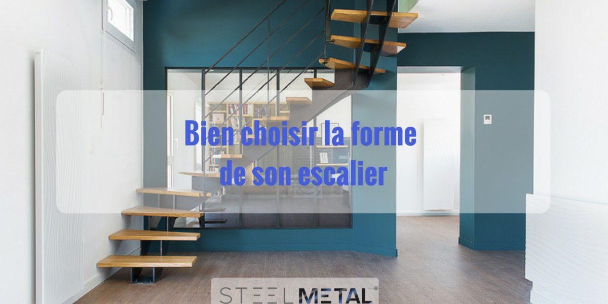 Choisir la forme de son escalier