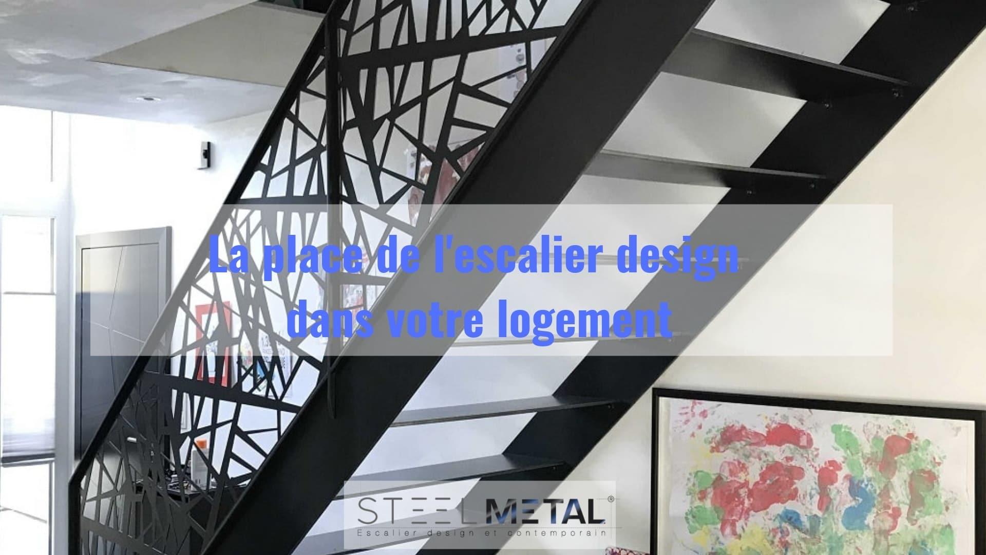 Escalier Interieur Beton Design la place de l'escalier design dans votre logement | steelmétal