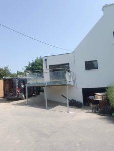 Terrasse galvanisée - Steel Metal