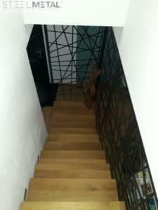 Découpe laser - escalier