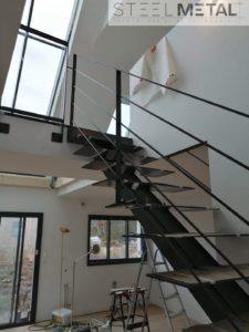 Escalier métal - Jarn - Steel Métal